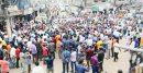 শ্রীমঙ্গল পৌরসভার নির্বাচনের দাবিতে মানববন্ধন