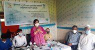 অগ্রণী ব্যাংকের ফ্রি মেডিকেল ক্যাম্প রাজনগরে সেবা পেলেন, ৩ শতাধিক নারী-পুরুষ