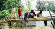 জুড়ীতে কয়েক হাজার মানুষের বাঁশের সাঁকোই ভরসা