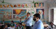 মৌলভীবাজারে শিক্ষা প্রতিষ্ঠান পরিদর্শনে প্রাথমিক ও গণশিক্ষা সচিব